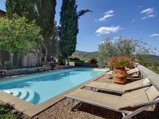 Lovely Tuscan Villa with Swimming Pool and Views - Villa Elettra - Figline Valdarno vacation rentals
