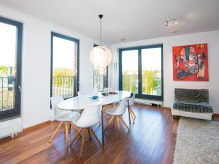 hippest area + very close to center + free parking - Amsterdam vacation rentals