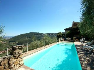Detached villa  with private pool near Pisa-Lucca. 30 kms from sea. Great view!! - Buti vacation rentals