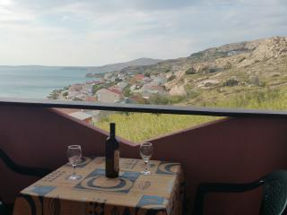 Studio for 2 with beautiful seaview - Metajna vacation rentals