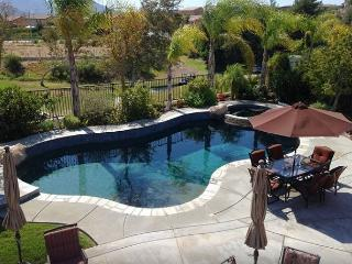 4 Bedrooms, 3 Baths,  Pool, Spa With Views Of Redhawk Golf Course & Temecula - Temecula vacation rentals