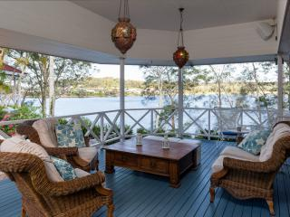 NEW !  Riverwilde House-spectacular river frontage - Hope Island vacation rentals