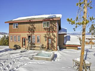 Magnificent 5BR + Bunk Room Granby House w/Private Hot Tub, Resort-Style Amenities & Barbecue Pit - A True Ski-in/Ski-Out on Granby Ranch Ski Resort! - Granby vacation rentals