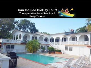 House with pool for 8 next to BioBay. Jeep avaliab - Esperanza vacation rentals