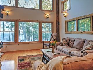 New Listing! Expansive 4BR Alton House w/Wifi, Plenty of Outdoor Space & Unobstructed Water Views - Directly on Lake Winnipesaukee w/Private Dock! Easy Access to Outdoor Recreation & Downtown Attractions! - Alton vacation rentals