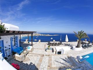 Large villa with private pool in most popular area - Psarou vacation rentals