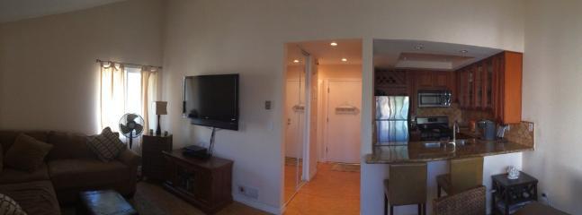 Furnished 1-Bedroom Condo at Pacific Coast Hwy & Warner Ave Huntington Beach - Image 1 - Huntington Beach - rentals