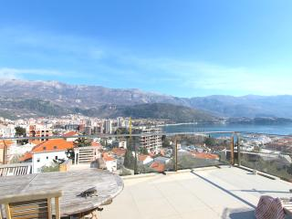 Penthouse with panoramic view and terrace - Budva vacation rentals