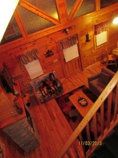 View from the upstairs loft/room - WILD WEST- Giddy up into Pigeon Forge - Pigeon Forge - rentals