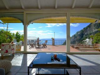 Stylish villa with sea view - V751 - Positano vacation rentals