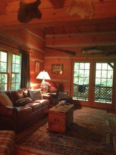 Hideaway Cabin-Secluded Log Cabin - Highlands vacation rentals