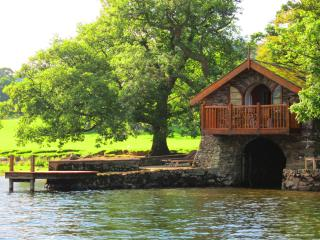 Romantic Boathouse with Boat Available and Garage - Watermillock vacation rentals