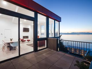 Modern Home With 180 Degree View Of Beach & parkin - Seattle vacation rentals