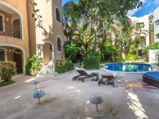 Playa del Carmen Hotel Room at the BRIC Hotel - 1 Full and 1 Single Bed - Playa del Carmen vacation rentals