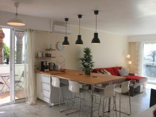 5 min from Nice Promenade: 2 beds flat, ac, pool - Nice vacation rentals
