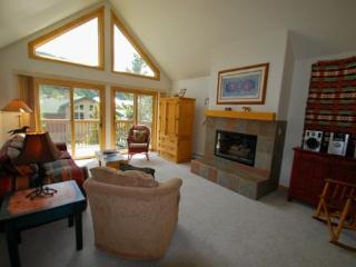 Snake River Village 05 - Walk to slopes, ski area views, washer/dryer, private garage! - Keystone vacation rentals