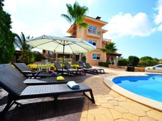 Great Villa Libertad with 5 bedrooms and pool. - Llucmajor vacation rentals