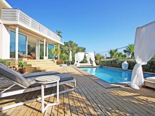 Specious modern ibiza style house with pool - Talamanca vacation rentals