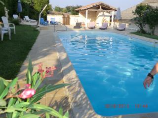 2 GITES mitoyens 4 per.piscine chauf. Val de loire - Richelieu vacation rentals