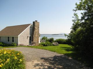 """Sea Meadow"" Oceanfront Cottage - Lighthouse Views - Brooklin vacation rentals"