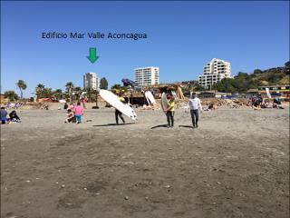 Departamento en Concón - 3 Dormitorios - 5 personas - Playa La Boca - Concon vacation rentals