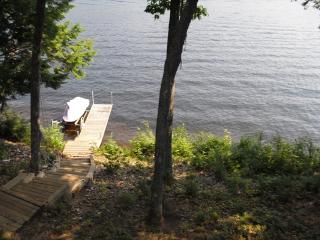 Waterfront, dock 2 bedroom house on Sawyer Lake - Gilmanton vacation rentals
