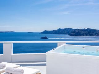 Pure Bliss Villa, balcony with sea view & jacuzzi - Oia vacation rentals