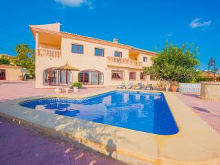 Villa Lina - With 11 bedrooms, private pool, wifi and BBQ. - Calpe vacation rentals