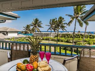 Poipu Sands 225 Only 100 yards from Shipwreck Beach and the Hyatt! 2 bed/2 bath, heated pool! Free car with stays 7 nts or more* - Koloa-Poipu vacation rentals