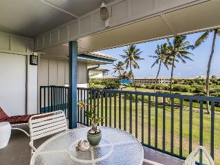 Poipu Sands 225 Only 100 yards from Shipwreck Beach and the Hyatt! 2 bed/2 bath, heated pool! Free car with stays 7 nts or more* - Poipu vacation rentals