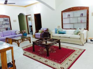 Gold Lotus room, walk to yoga KPJ, Green Lotus house - Mysore vacation rentals