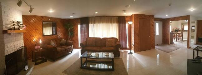 living Area - Secluded ,Modern,Hot Tub,AC,Netflix - Bushkill - rentals