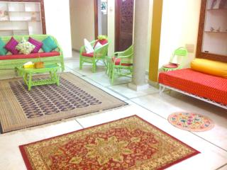 Lotus Room, walk to yoga KPJ,Green Lotus House - Mysore vacation rentals