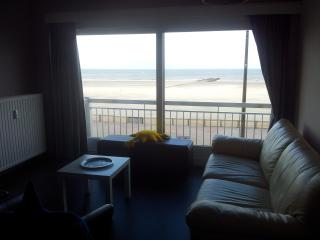 Apartment 1st floor-2 bedrooms-frontal view sea - Blankenberge vacation rentals