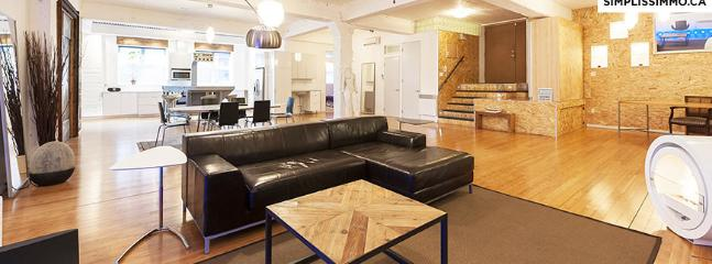 3-Bedroom Loft Style located Plateau - Montreal vacation rentals