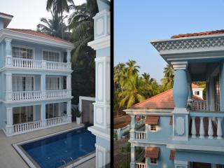 2 BHK Serviced Apartment - Pool & Nature View ! - Siolim vacation rentals