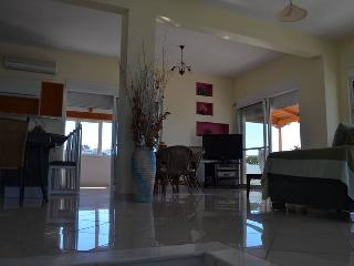 Unique view 3-floor modern villa - Theologos vacation rentals