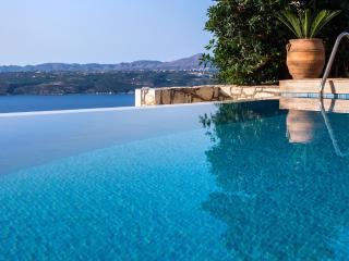Villa Silvia with unique sea view - Aptera vacation rentals