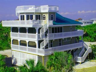 Luxury House 50 yds from beach! Pool & games area! - North Captiva Island vacation rentals