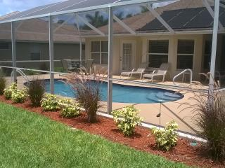Briarwood South Exposure Pool with partial lake - Naples vacation rentals