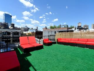 3BR/2BA SoHo Duplex Terrace for 10 - Little Italy (100% Legal) - New York City vacation rentals