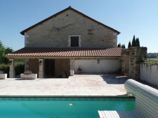 Detached spacious converted barn with heated pool - Chalais (Charente) vacation rentals