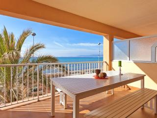 Frontline apartment with stunning views of Arenal - Playa de Palma vacation rentals