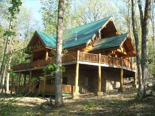 """2 Acres***156""""Theater***Luxury*** Firepit***Stream - Sevierville vacation rentals"""