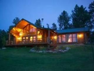 Whitetail Springs, Log home on 17 acres - Custer vacation rentals