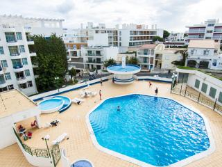 Apartment with Pool 100 meters from the Beach - Olhos de Agua vacation rentals