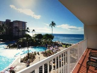 Beach front resort, ocean view, 1 bedroom - Lahaina vacation rentals