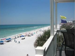 Beachfront Corner Unit - steps from Deck to Beach - Santa Rosa Beach vacation rentals