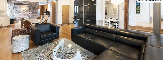 3-Bedroom loft located Plateau - Montreal vacation rentals