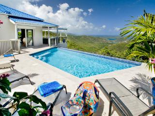 Private Bordeaux Mountain location with ocean views and sea breezes. MAS BOR - Coral Bay vacation rentals